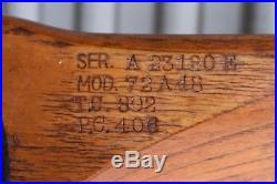 72 Vintage Univair Wooden flottorp Airplane Propeller. Model 72A48