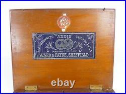 Boxed Set Of 12 J B Addis Vintage Wood Carving Chisels And Gouges 129