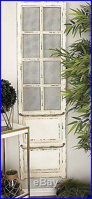 Decorative Antique Distressed Wood Metal Vintage Shabby Door Wall Panel Art NEW