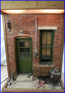 Early Vintage Michael Garman Door Window Cityscape Series Sculpture