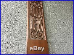 Evelyn Ackerman 1964 Castles Wood Sculpture Vintage MID Century Modern Era