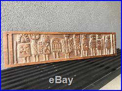 Evelyn Ackerman Wood Carving Sculpture Vintage MID Century California Modern Era