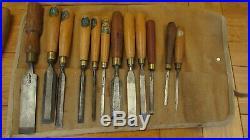 Huge Job Lot of 90 Vintage Wood Carving and Woodwork Chisels/Gouges All UK Made