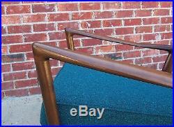 Ib Kofod-Larsen Selig sculptural Danish rocking chair rocker vintage 60's rare