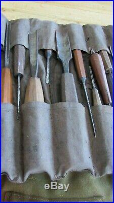 Job Lot of 140 Vintage Wood Carving Chisels/Gouges UK Made 1900 1960