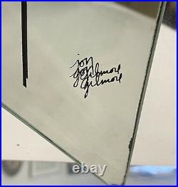 Jon Gilmore Vintage 1970s Mid Century Modern Art Deco Fish Mirror Sculpture 18