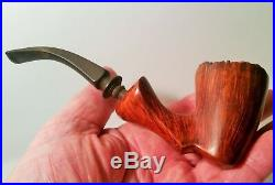 KARL ERIC 7 vtg denmark tobacco smoking pipe danish wood carving art sculpture