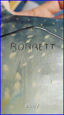 Lake Trout Mike Borrett Wood Carving Beautiful