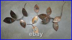 Mid CENTURY Metal MODERN TREE Sculpture ITMO Curtis Jere COPPER Brass Tones 74