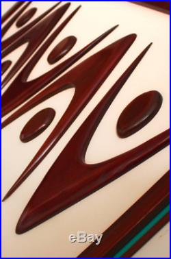Mid Century Modern Art Witco Inspired Abstract Sculpture Retro Eames Era