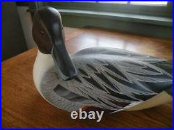 Randy Tull Preening Pintail Duck Wood Carving
