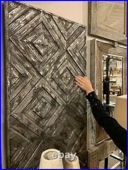 Roland Farmhouse Restoration Decor 48 Aged Wood Wall Art Panel Uttermost 04142