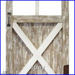 Rustic Barn Door Wood Farmhouse Wall Decor Shabby Country Home Art Vintage Style