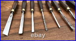 S J Addis Vintage Wood Carving Chisels And Gouges Set Of 12 Great Condition