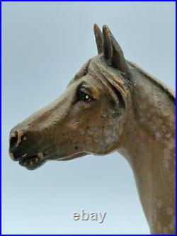 Scarce Anri Italy Vintage Wood Carving Of A Dapple Gray Horse By Helmut Diller