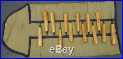 Set 13 vtg Stubai wood carving tool Chisels Austria #1 2 3 4 5 7 8 11 24 41