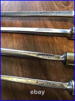 Set Of 15 J B Addis 9 & 10 Prize Medal Vintage Wood Carving Chisels And Gouges