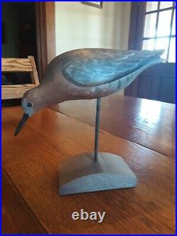 Shorebird Decoy Carving David Rhodes