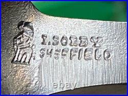 Sorby Sheffield Vintage Set of 6 Large Cranked Gouges Wood Carving Tools Boxwood