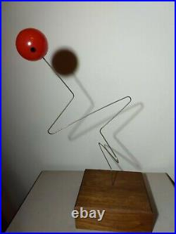 Tork Kinetic Sculpture by Donald Max Engelman Vintage Mid Century Modern
