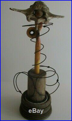 Vintage 1970's Pop Ellis Modernist Sculpture Abstract Assemblage Expressionist