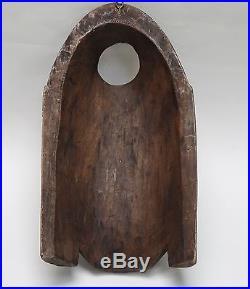 Vintage Divine Bali Balinese Well Carved Wood Mask Sculpture 14