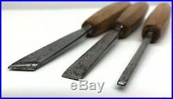 Vintage Henckels Germany 11pc Wood Carving Chisel, Gouge, V-Parting, Knife Set