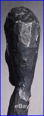 Vintage Outsider Art Carving Sculpture Folk Art Cane Louisville Kentucky BNC