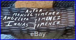Vintage Skunk By Manuel Jimenez Alebrije Oaxacan Wood Carving