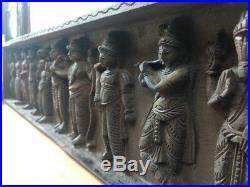 Vintage Wall Panel Vishnu 10 Avatar Dashavatar Statue Sculpture Home Decor Rare