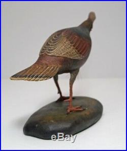 Wild Turkey Wood Carving By Frank Finney Wildlife Bird
