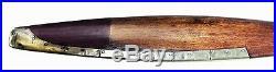 Wood Vintage Flight Airplane Propeller Replica Metal Edge Large 73 Wall Decor